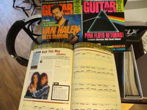gitaar tijdschriften (2)