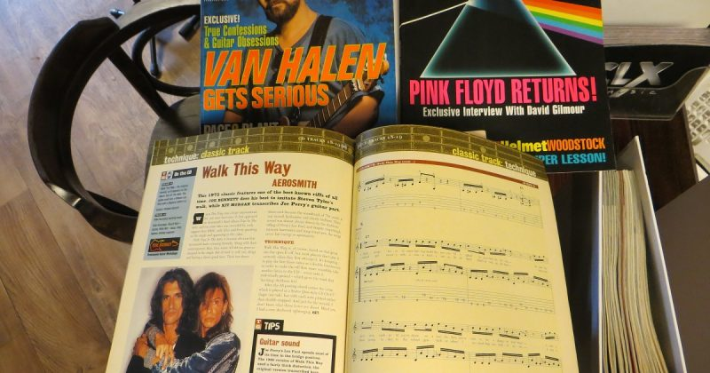 Tijdschriften collectie van Gitarist en Guitar World
