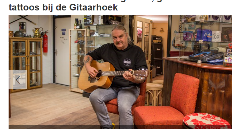 De Gitaarhoek op RTV drenthe