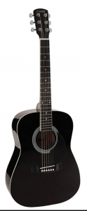 nashville 3 4 zwart gitaar