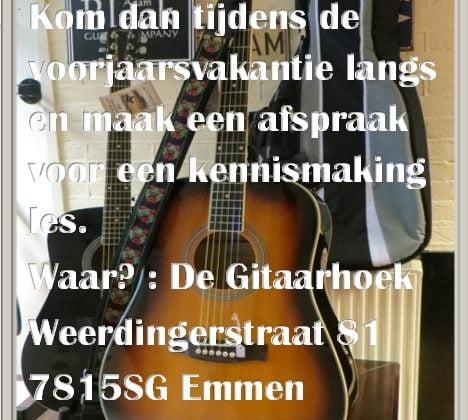kennismaking gitaarles