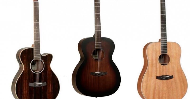 Nieuw binnen: Tanglewood gitaren